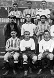 bolton wanderers 1912-13 team group