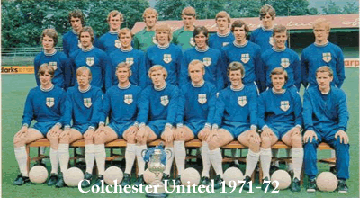 colchester united 1971-72 team